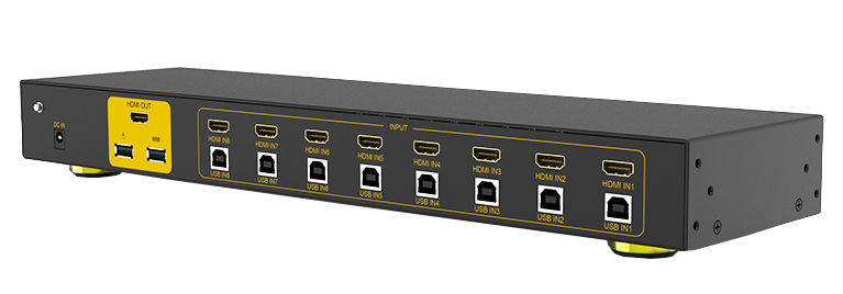8 ports HDMI KVM switch
