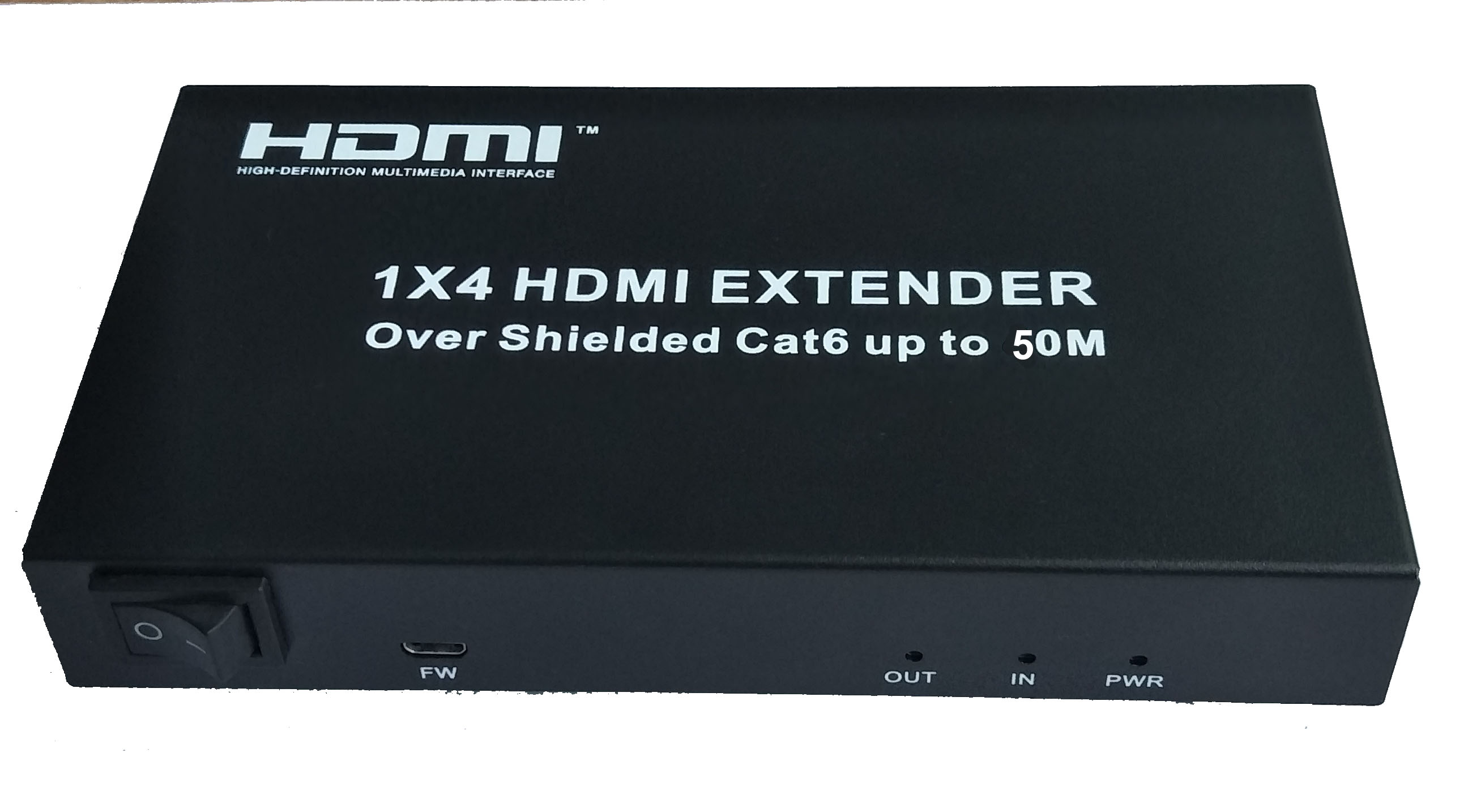 HDMI Extender 1x4 over UTP cable 50m